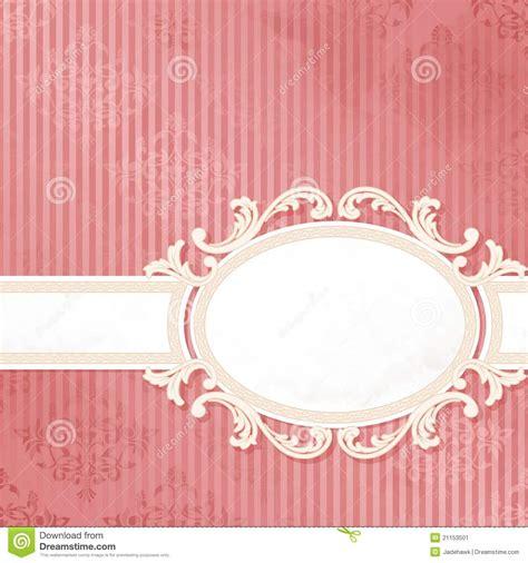 antique white on pink wedding banner stock image image