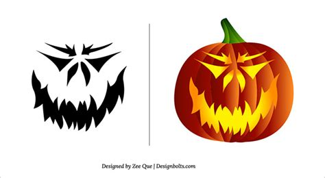 scary pumpkin carving stencils patterns car interior design