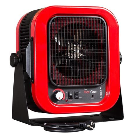 Garage Heater Thermostat by Shop Cadet 4 000 Watt Electric Garage Heater With
