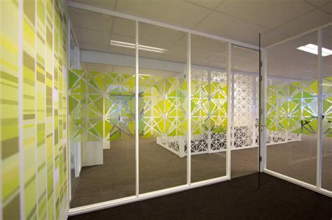 glass wall design office besturenraad coen films glass and walls