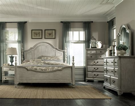 lane bedroom sets windsor lane weathered poster bedroom set from magnussen