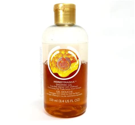 Shop Honeymania Shower Gel 250ml the shop honeymania shower gel review