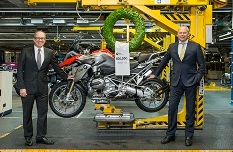 Motorrad Shop Spandau by 500 000ste Boxer Gs In Berlin Gebaut Tourenfahrer