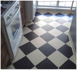 Cheap Kitchen Flooring Linoleum Linoleum Vs Vinyl Modernize
