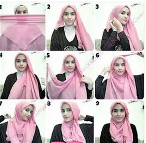 tutorial hijab segi empat buat hang out pintar pakai jilbab kreasi jilbab untuk akhir pekan