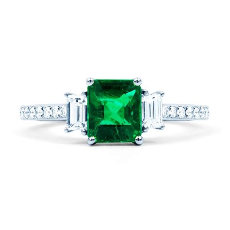 Emerald Engagement Rings by Zambian Emerald Engagement Ring Boutique