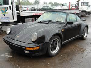 Used Salvage Cars For Sale In America Salvage Porsche 930 1985 Hillsborough Nj 08844 Usa