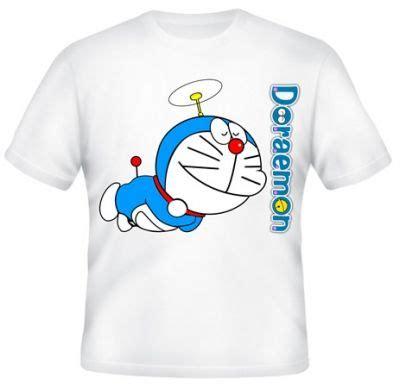 Kaos Distro Doraemon Nobita Spandek kaos doraemon terbang kaos premium