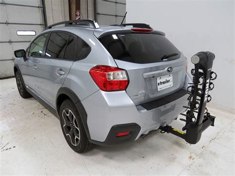 Subaru Hitch Bike Rack by Subaru Xv Crosstrek Thule Vertex 4 Bike Rack 1 1 4 Quot And