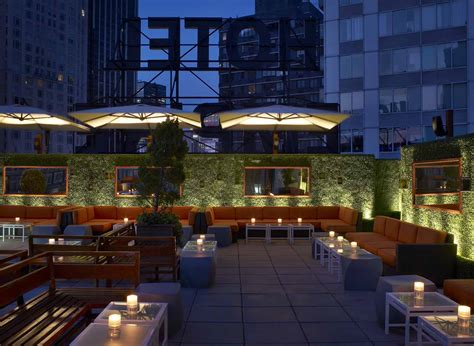 Roof Top Bars by Empire Hotel Rooftop New York Ny