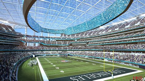 chargers stadium new take a look inside l a s new nfl stadium future home of