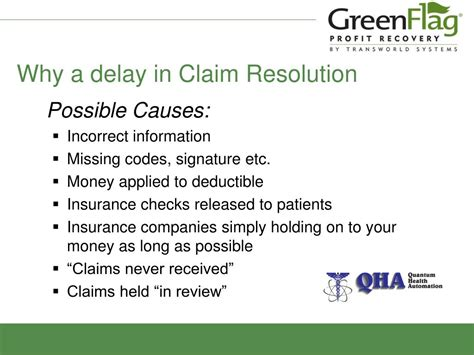 Why Is My Background Check Delayed Ppt Insurance Claims Resolution Powerpoint Presentation Id 556822