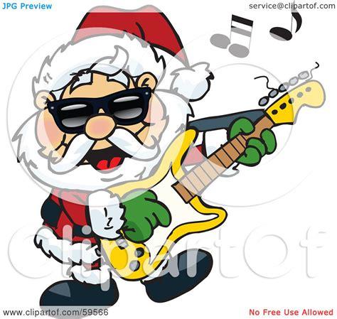 rockin santa christmas ringtones rockin santa clipart clipartxtras