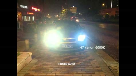 Lu Led Warna Putih 3800lm led vs hid xenon