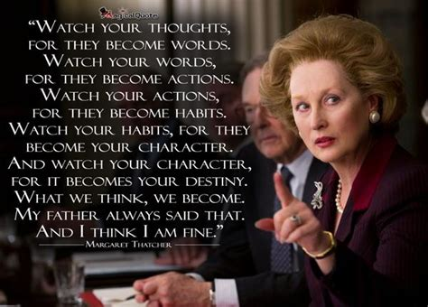 margaret thatcher quote margaret thatcher quotes on character quotesgram