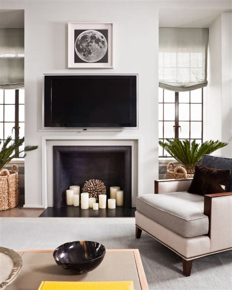faux fireplace with candles i like a space to look a more lived in but this is