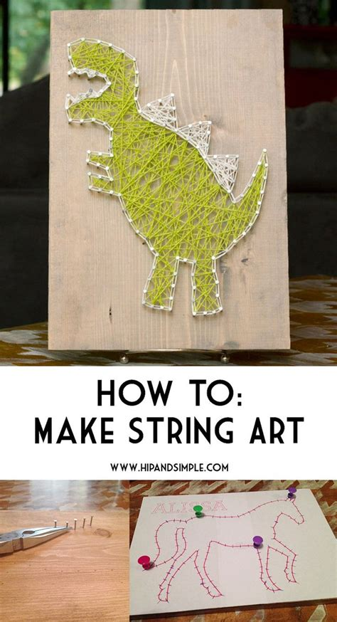 How To Make Nail String - 17 best images about string on diy string