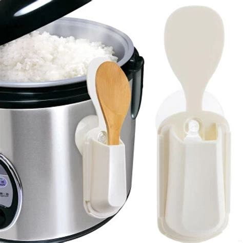 Rice Spoon Holder portable rice cooker spoon holder kitchen organizer tools