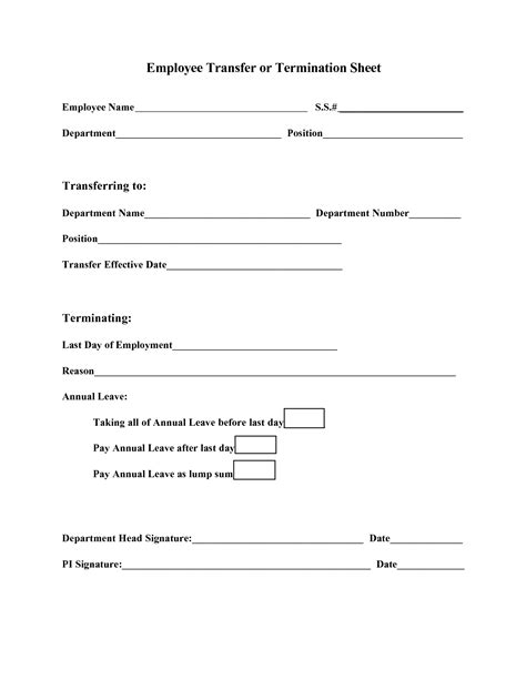 best photos of employee termination template free