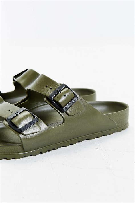 birkenstock waterproof sandals birkenstock arizona waterproof sandals in brown for