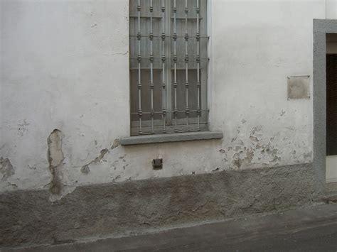 umidit 224 di risalita nei muri problema e soluzione