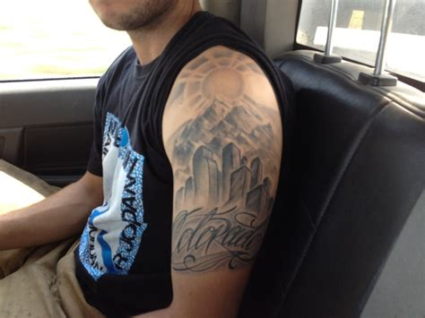 denver skyline tattoo 1000 images about ideas on beautiful