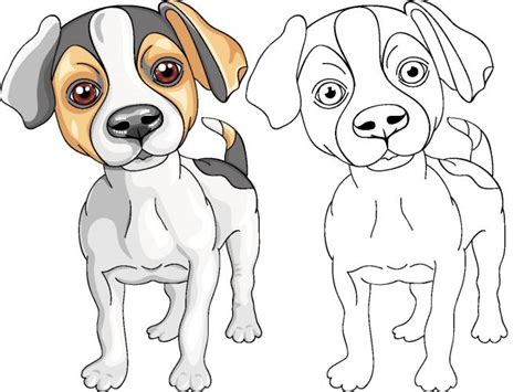 imagenes de un jack dibujos de perros para colorear hogarmania