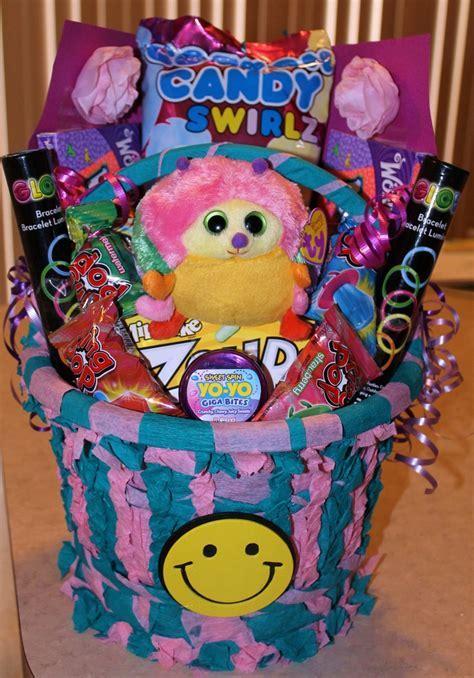 9 year old girls Birthday Basket   Cute ideas for kids