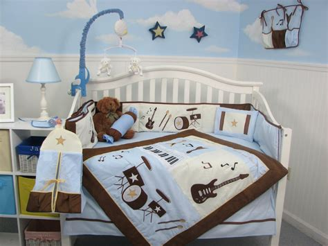 Brown And Blue Crib Bedding Baby Boy Bedding Brown And Blue Bedding Sets Collections