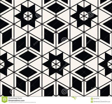geometric pattern high resolution geometric seamless pattern vector stock vector image