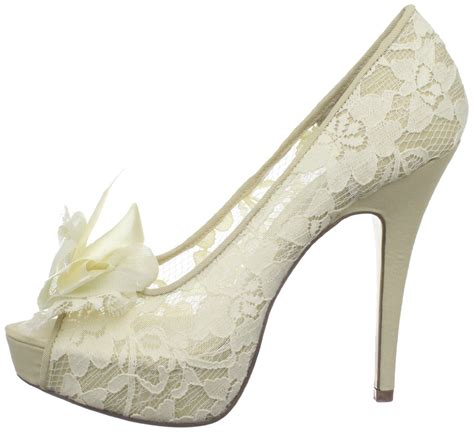 schuhe hochzeit ivory lace ivory shoes for wedding 2016