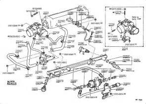 1987 Toyota Parts Catalog Toyota Fuel Injection System