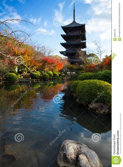 Rinn Toji Kyoto Japan Asia toji temple stock photo image 63057181