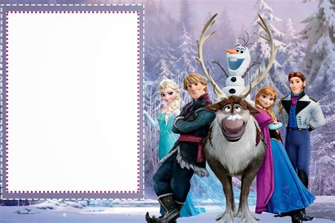 frozen printable greeting card frozen free printable cards or party invitations oh my