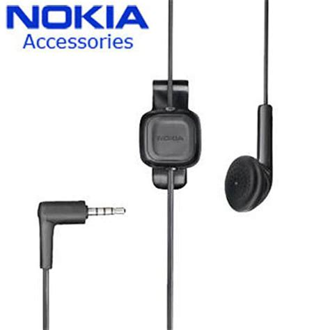 Nokia Wh 700 Headset Original nokia wh 100 headset black reviews mobilefun