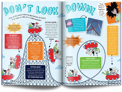 magazine layout design books moon layout uk children s science magazine for kids