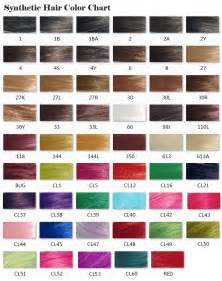 hair expression colour charts x pression braiding hair color chart hairstyle gallery