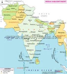 Map Of India And Surrounding Countries by Or Else We Would Have Looked Like This