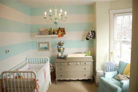 Babyzimmer Gestalten Blau by Babyzimmer Tapeten 27 Kreative Und Originelle Ideen