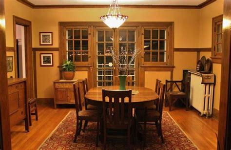charming craftsman dining room lighting design