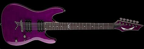 Dean Custom 350 Maple Trans Power Purple dean custom 350 electric guitar new trans power purple