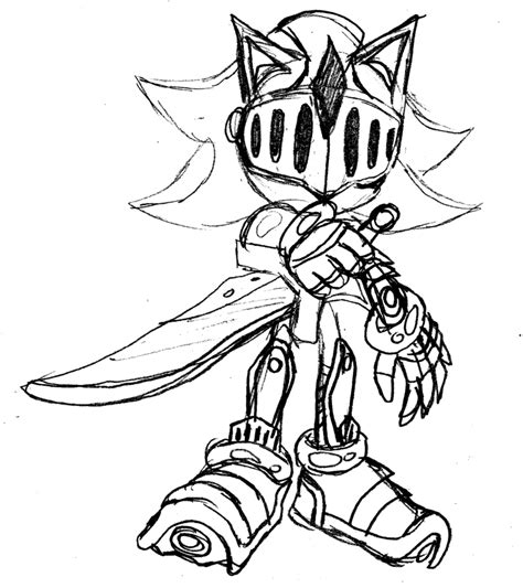 black knight sonic the hedgehog coloring pages coloring pages