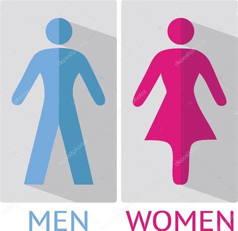 cartello bagni cartello wc o bagno vettoriali stock 169 portokalis 62426083