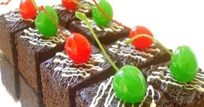 cara membuat brownies kukus rainbow resep cara membuat brownies kukus mudah
