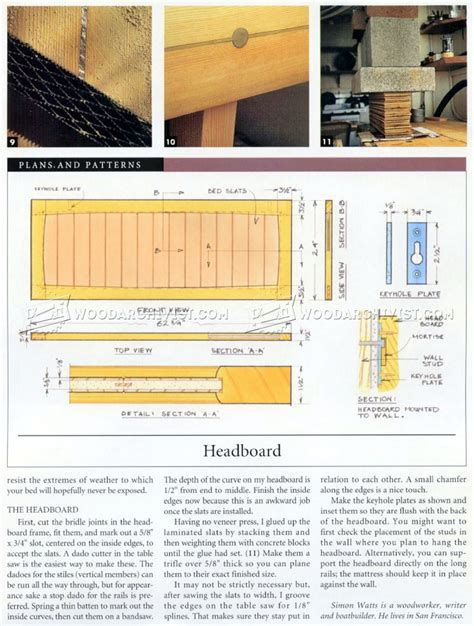 sled bed sled bed plans woodarchivist