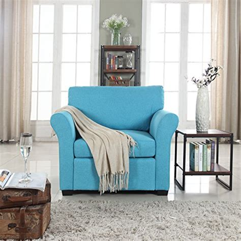 Traditional Accent Chairs Living Room Classic And Traditional Linen Fabric Accent Chair Living Room Armchair Blue Gvdesigns