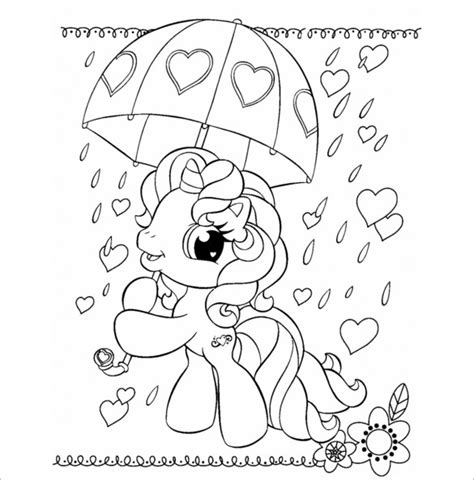 pony coloring page pdf 20 my little pony coloring pages free word pdf jpeg