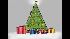 how to draw christmas tree how to draw a tree with presents for