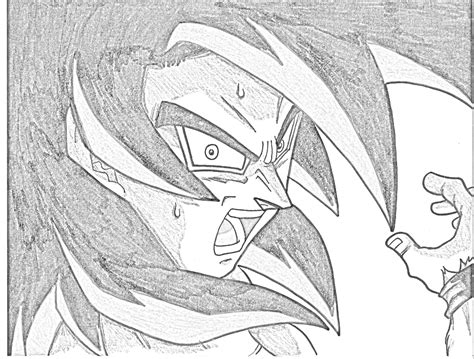 Z Drawing Images by Image Ssj4 Goku Sketch Jpg Sketching Wiki Fandom