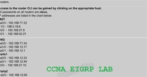 ccna 200 120 practice exam with network simulator gns3 labs ccnp ccna labs ccna eigrp exam lab